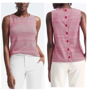 Banana Republic Women's Button-Back Sleeveless Top